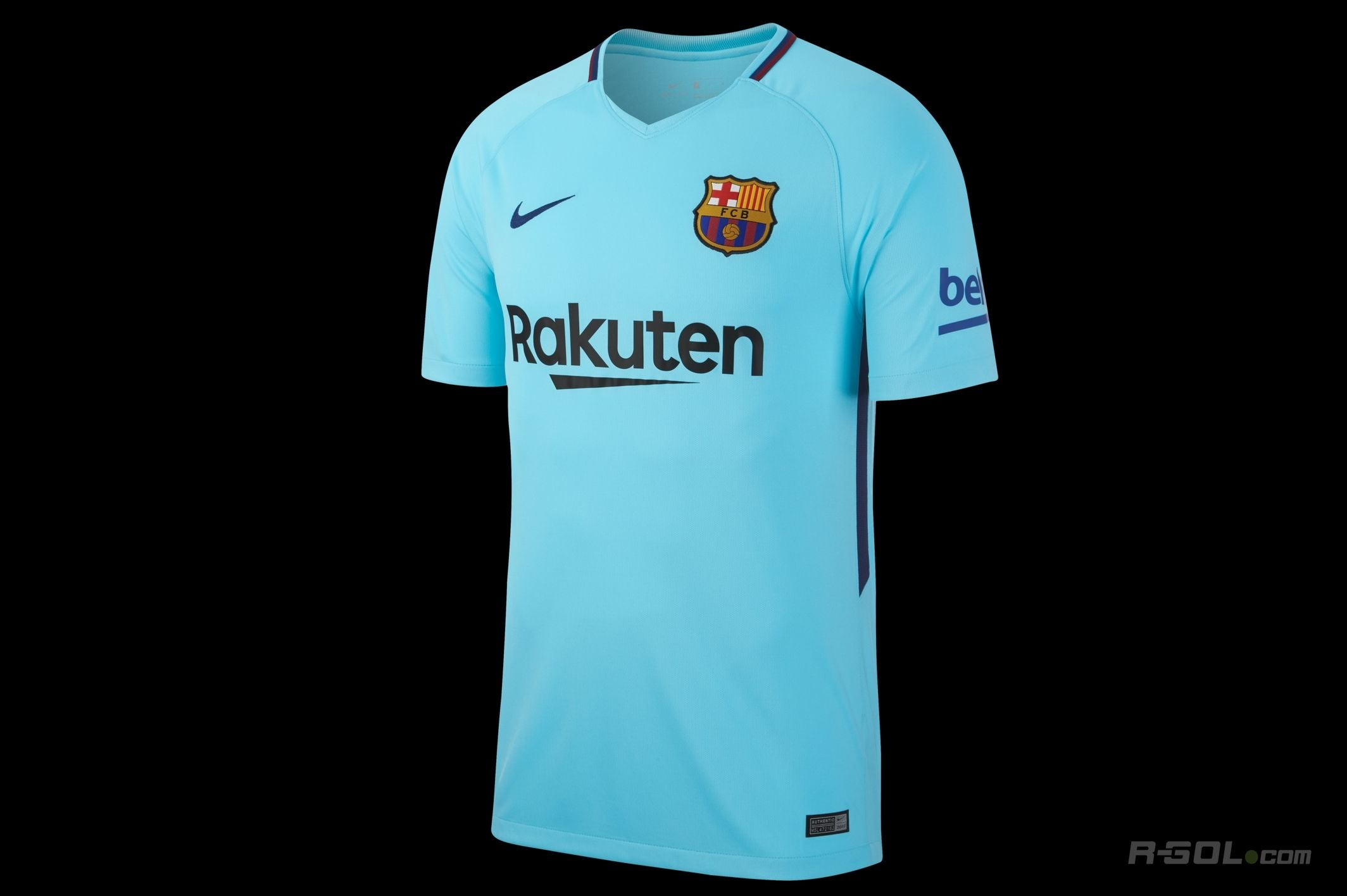 Youth Nike 2017-2018 Barcelona Away Nike Shirt     847386-484