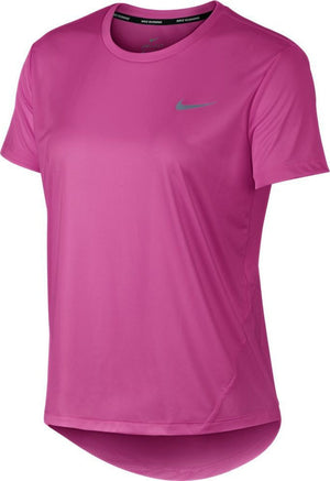 Women's Nike Running Miler Shirt.       AJ8121-623