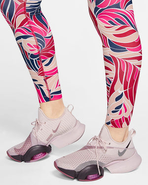 Women's NIKE ONE Mid Rise 7/8 TRAINING TIGHTS size Small CJ3910-615