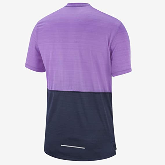 Mens Nike Breathe Running Shirt       Size: Medium       BV4626-505