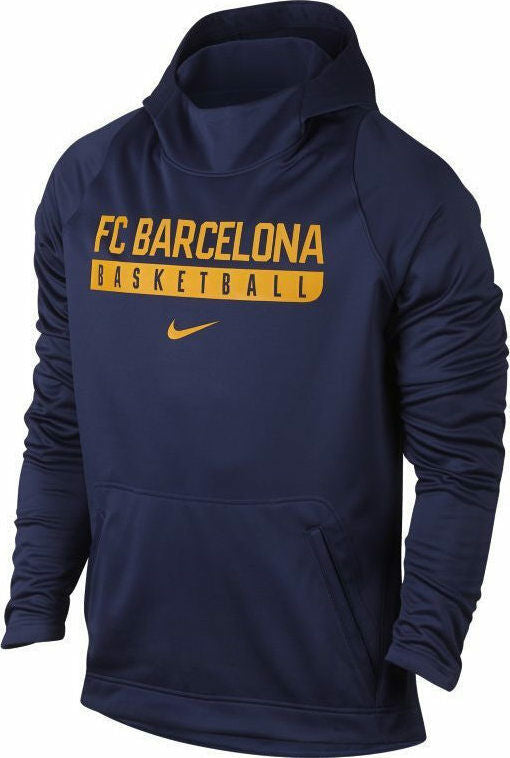 Mens Nike Barcelona Basketball Elite Hooded Top      883618-421      Size 2XL