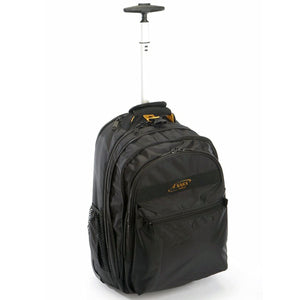 A. Saks EXPANDABLE Wheeled Laptop Backpack - ASaks