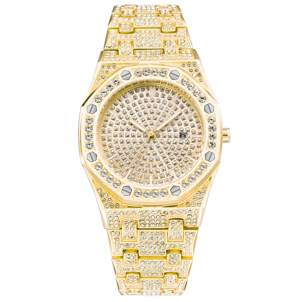 Royal Diamond Watch in Yellow Gold