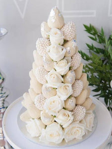 White Strawberry Tower