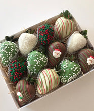 Christmas strawberry gift box, made in Melbourne