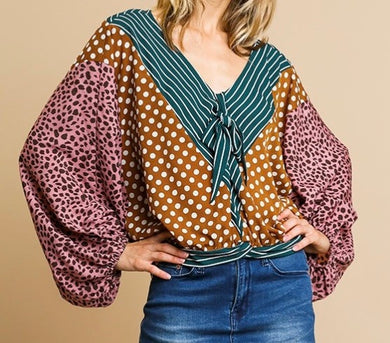 Pattern Play Top