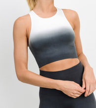 Load image into Gallery viewer, Grey Ombré Sports Bra