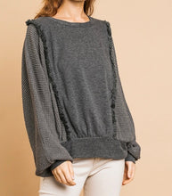 Load image into Gallery viewer, Charcoal Sweater