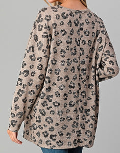 Twisted Leopard Long-Sleeve