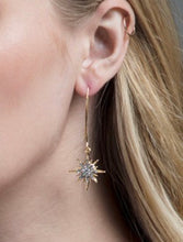 Load image into Gallery viewer, Starburst Wire Earring