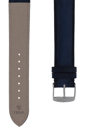 Marine Patinated Leather Watch Band 19mm