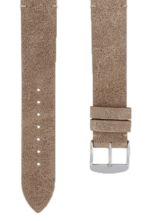 Desert Suede Leather Watch Band 19mm