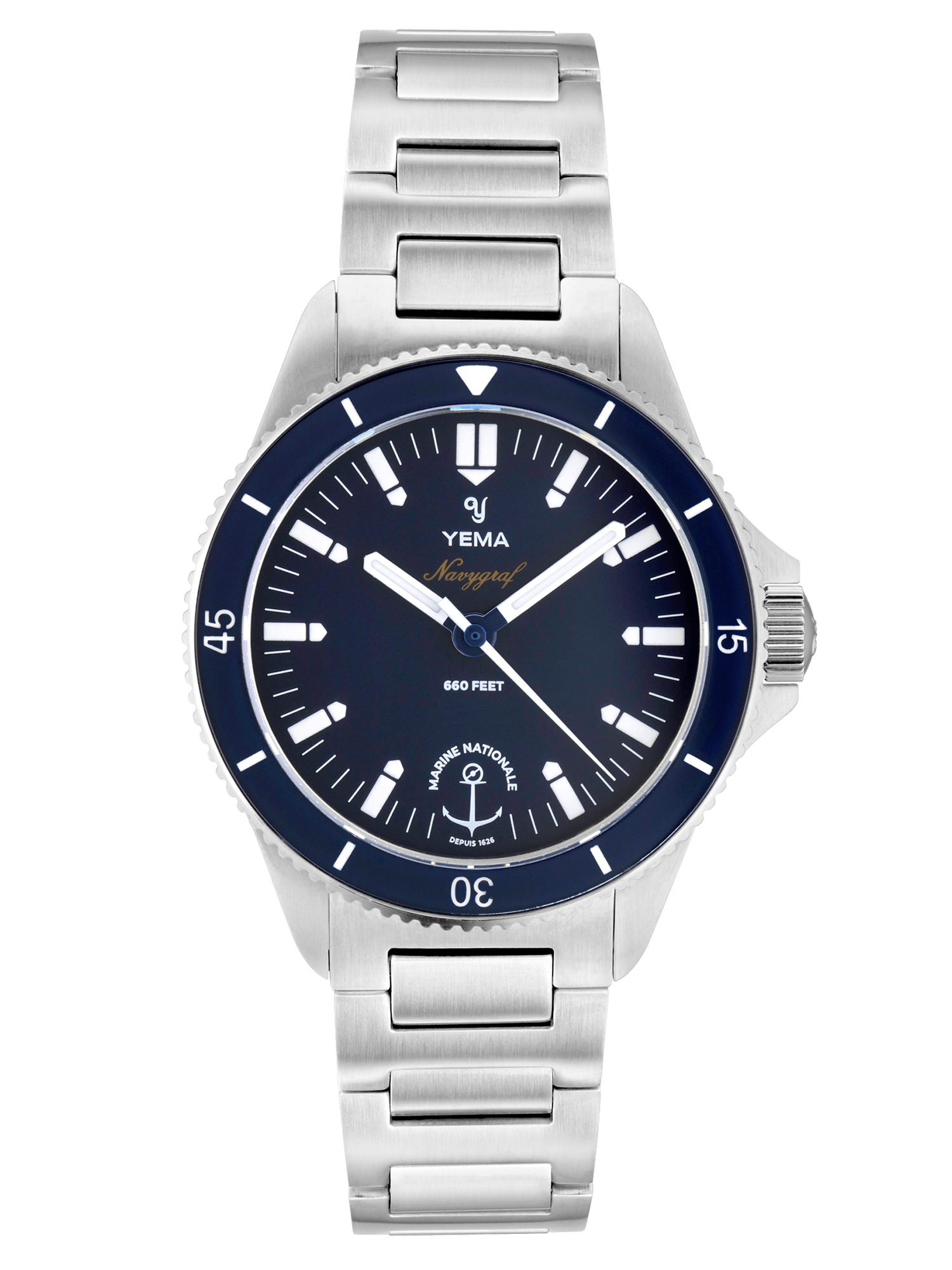 YEMA Navygraf Marine nationale Quartz