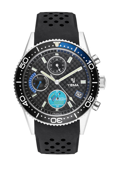 Yema Yachtingraf Regatta Black Quartz