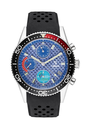 Yema Yachtingraf Regatta Blue Red Quartz