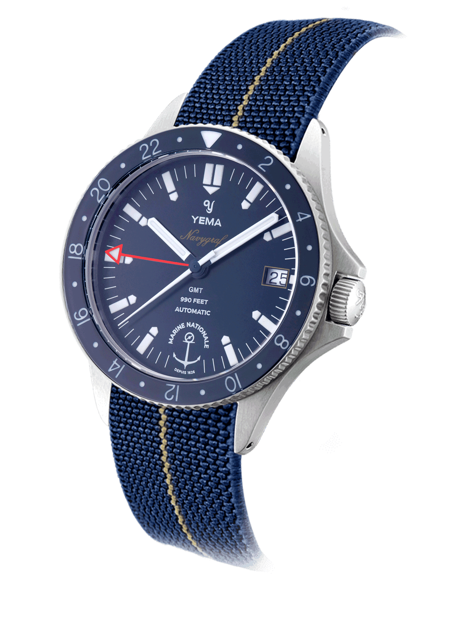 YEMA Navygraf Marine nationale GMT Limited Edition
