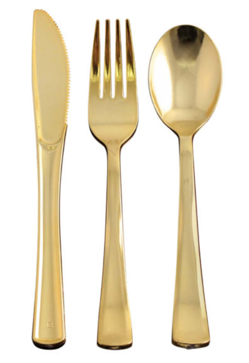 Gold Cutlery Collection