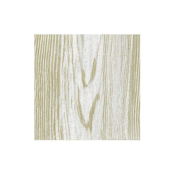 Faux Bois Birch Paper Linen Cocktail Napkins - 15 Per Package