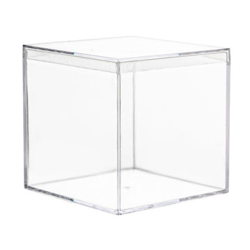 Mini Ware 3″ Clear Square Boxes With Lids