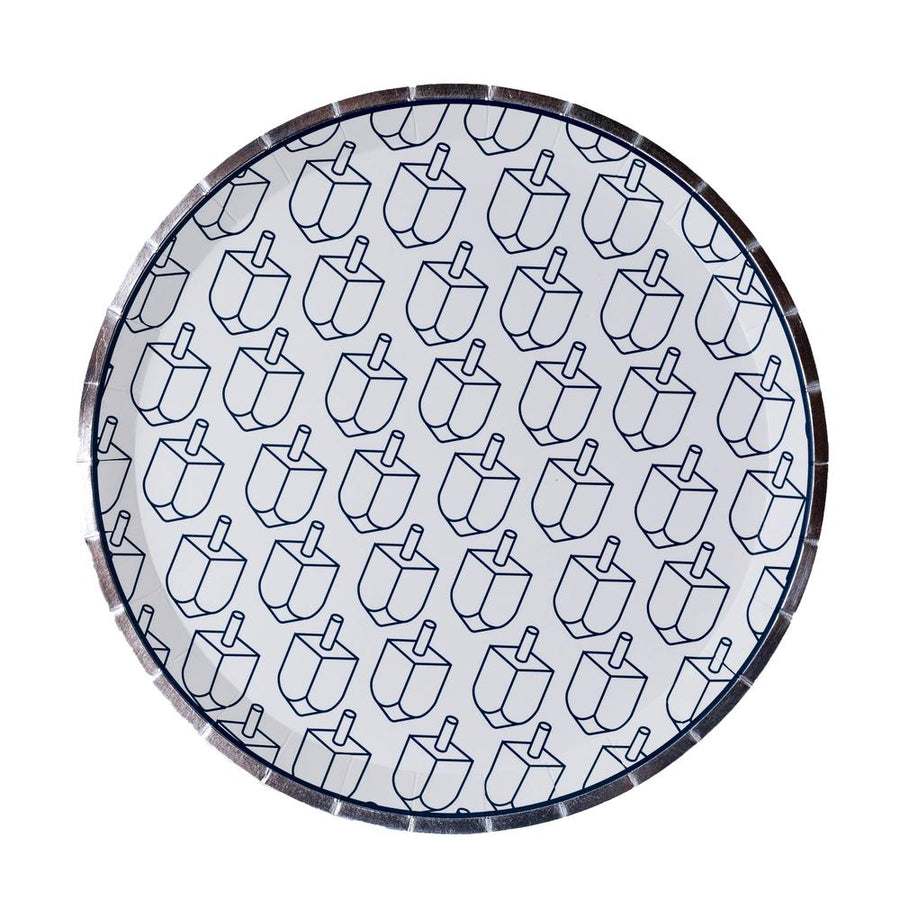 Chanukah Paper Plate 8 ct