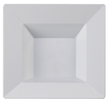 Square Collection 5 oz White Bowl 10 ct