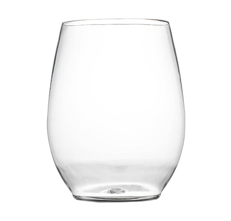 Stemless 12 Oz Clear Goblet 6 Ct