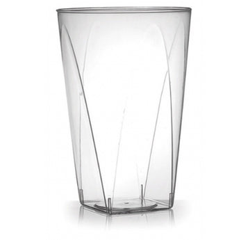 10 Oz Clear Square Bottom Tumbler 20 ct