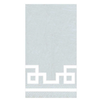 Rive Gauche Paper Guest Towel Napkins in Silver - 15 Per Package