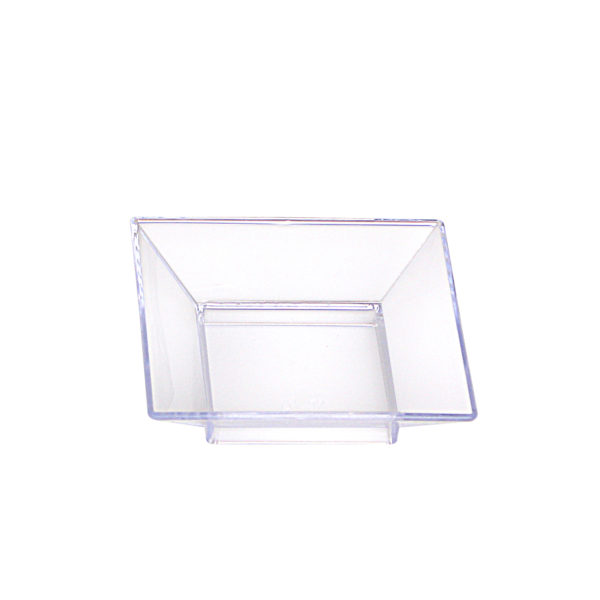 Mini Ware Clear  Petit Four Plates