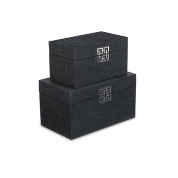 Black Bubble Texture Storage Box