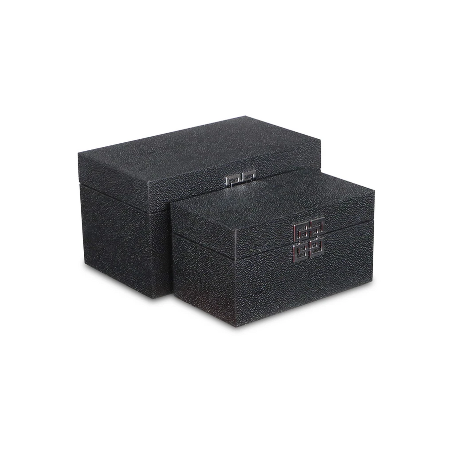 Black Small Bubble Texture Storage Box