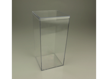 Clear Plastic Rectangular Box