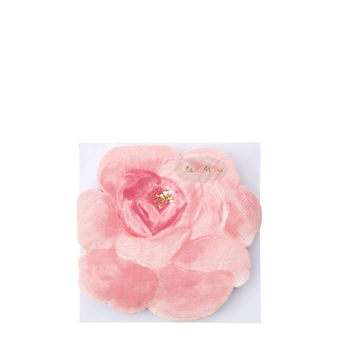 Rose Garden Die Cut Napkins