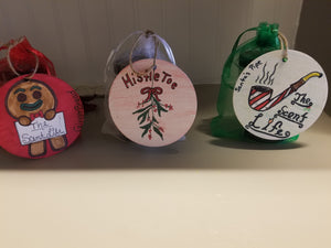Holiday gift pack - set of 2 - 2oz candles