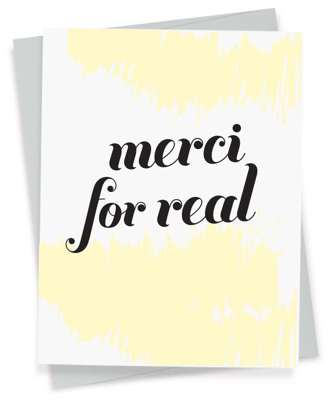 Merci For Real