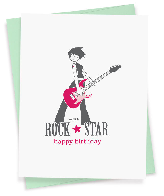 Rock Star Birthday
