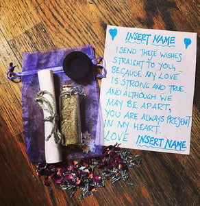 Fairy Wish Dust With Personalised Poem