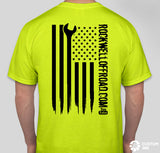 Rockwell Offroad Neon T-Shirts with American Flag
