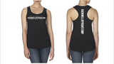Rockwell Offroad Ladies Racerback Tank - Black with White