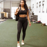 High Waist Running Leggings - Shaping Moms