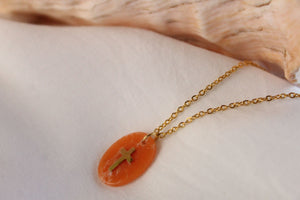 Collier Tessia - Orange