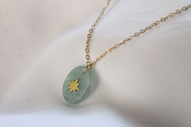 Collier Tessia - Amazonite