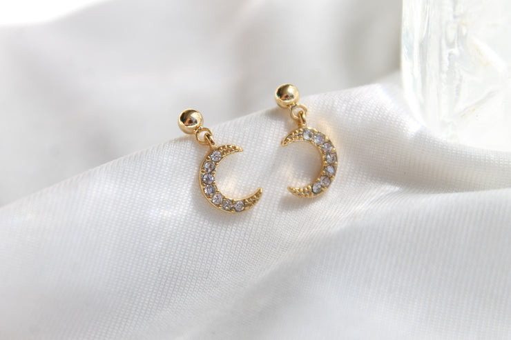Boucles June - Or/Zircon