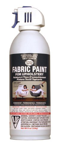 Simply Spray Upholstery Spray Fabric Paint, Size: 8 oz