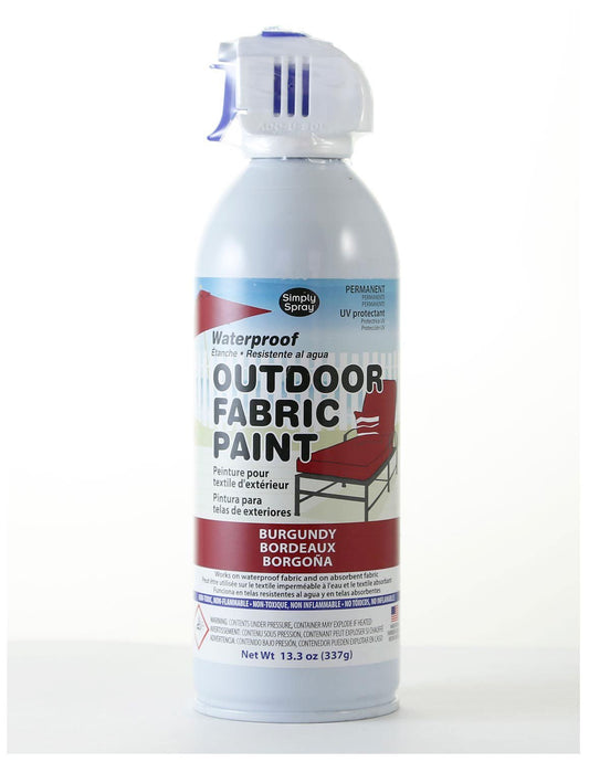 Simply Spray Outdoor Waterproof Fabric Spray Paint 13.3 Oz. Can