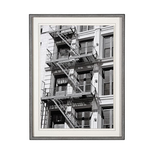 New York City Fire Escape Wall Art