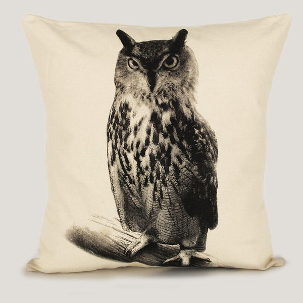Eric & Christopher Owl Pillow