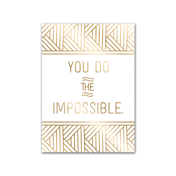 Impress Greeting Card