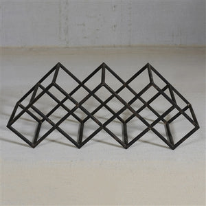 Graft Iron Wine Rack
