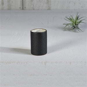 Domino Ceramic Black Cup